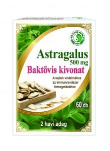 Astragalus kapszula kephez