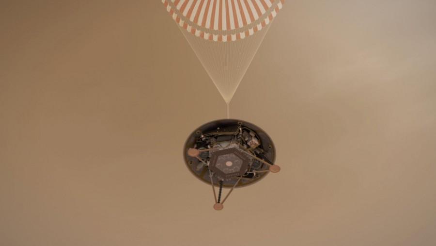 Sikeresen landolt a Marson az InSight űrszonda! Mutatjuk az első fotóját!