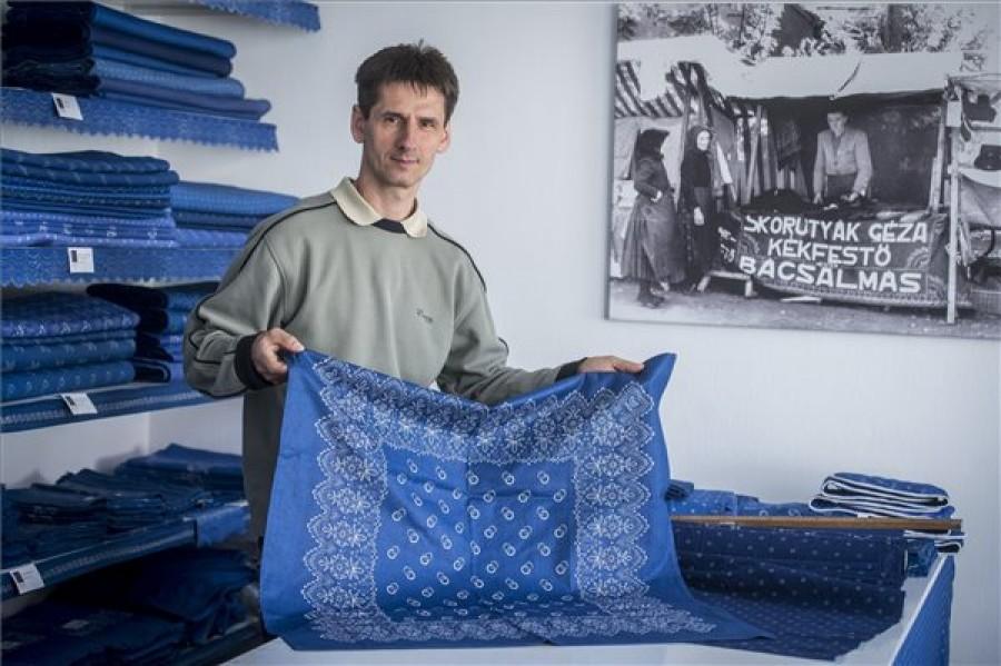 A szellemi kulturális örökség része lett a kékfestés