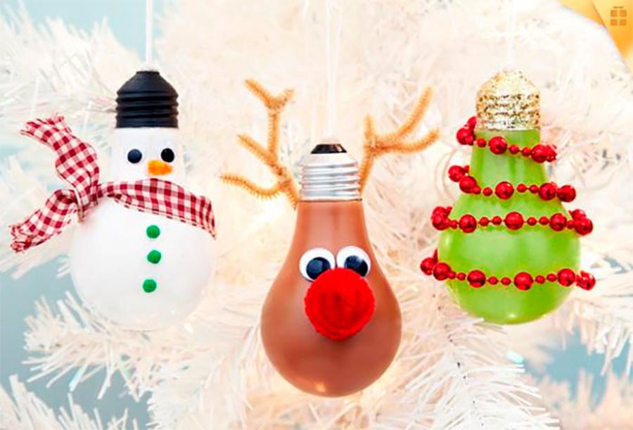 Filléres karácsonyi díszek, újrahasznosított anyagokból!