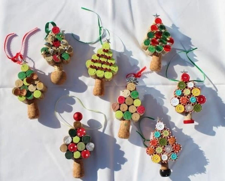 Filléres karácsonyi díszek - minden újrahasznosítva!