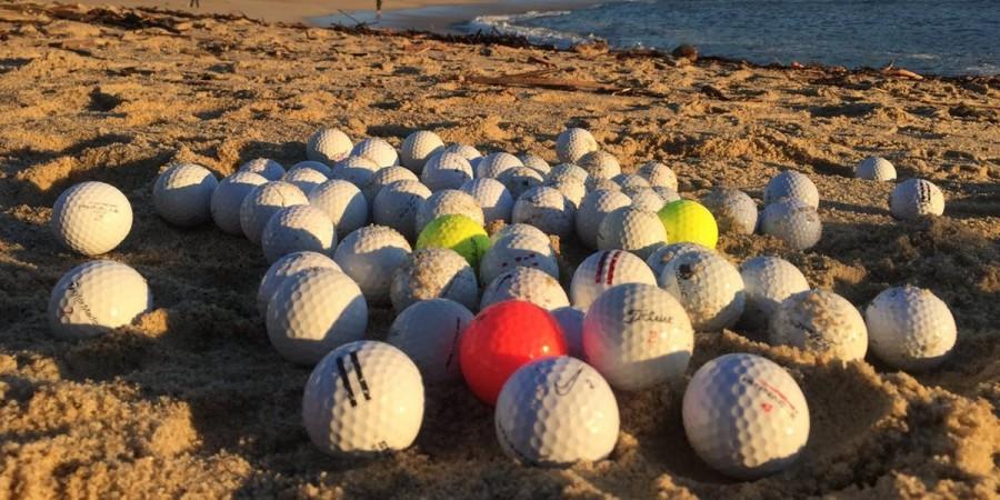 Döbbenetes számok! Két és fél tonna golflabdát távolítottak el a Monterey-öbölből.
