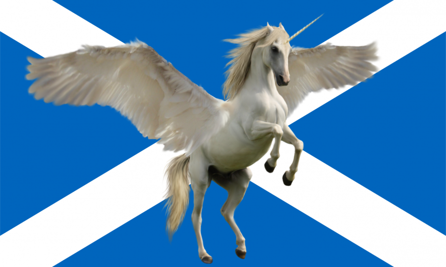 Tudtad? A skótok nemzeti állata az unicornis!
