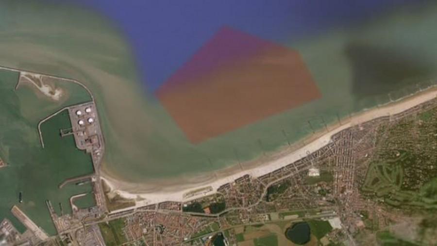 TNT szivárog az Északi-tengerbe a belgiumi partoknál