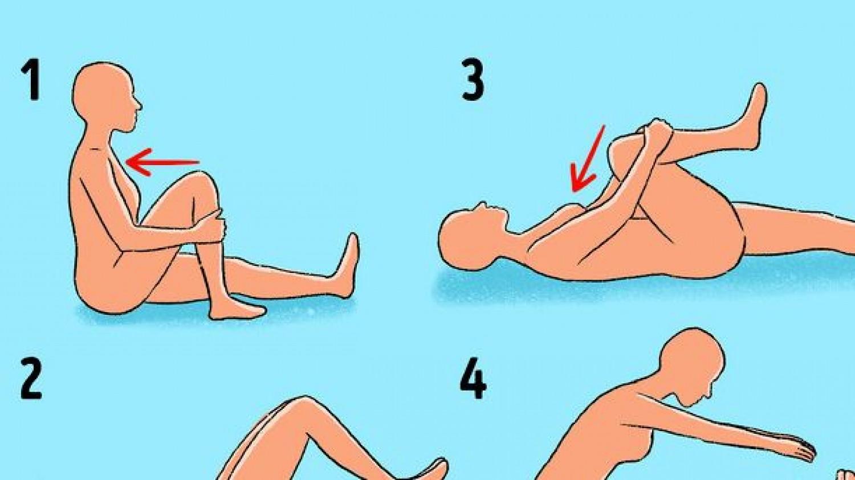60 másodperces gyakorlat a hátfájás enyhítésére