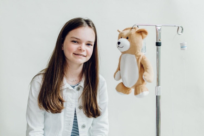 Egy 12 éves kislány zseniális találmánya megnyugtatja a beteg kicsiket