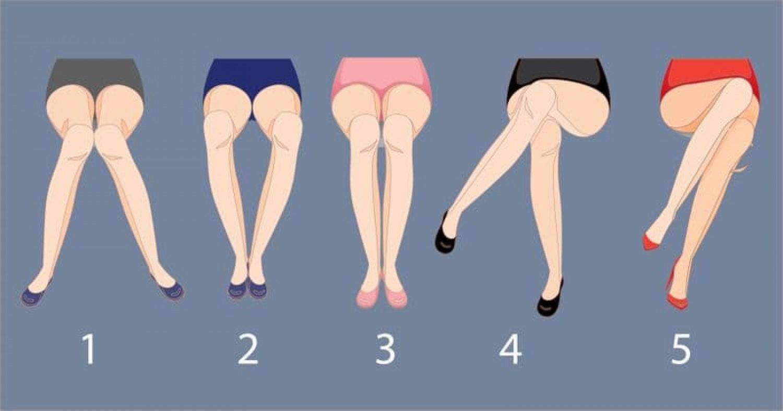 Milyen pozícióban tartod a lábad, amikor leülsz?