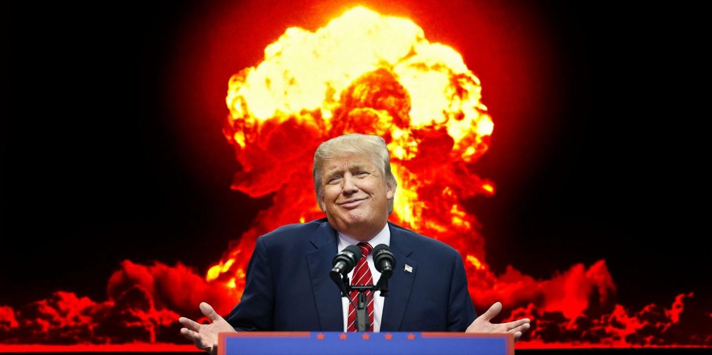 Fültanúk szerint Trump atombomba bevetését javasolta a hurrikánok ellen, az elnök tagad