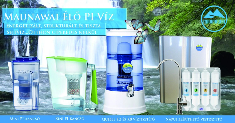 Strukturált, energetizált és tökéletesen tiszta elő forrásvíz