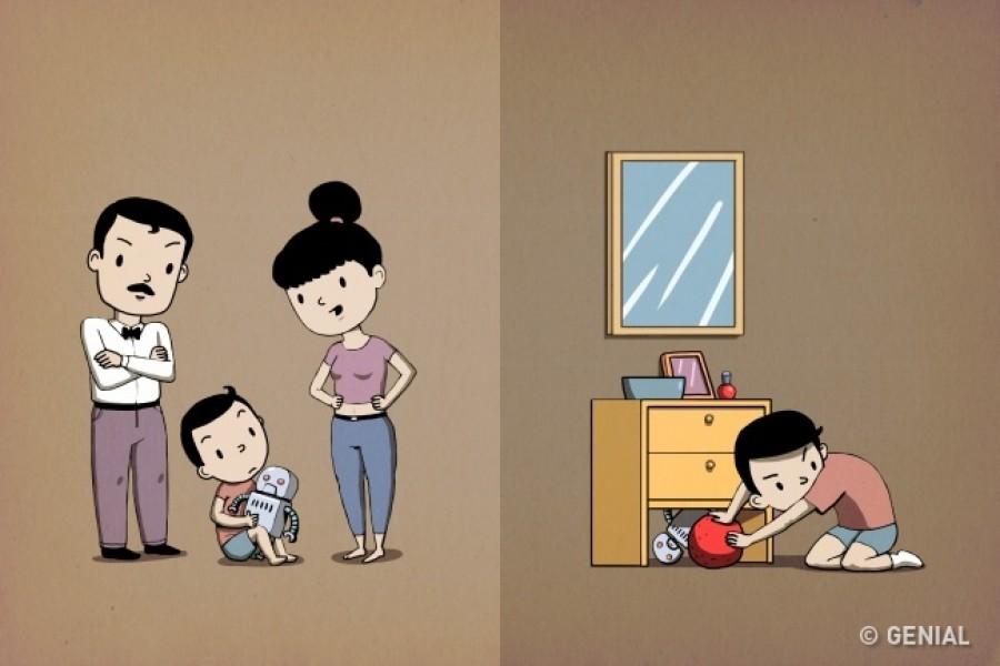 Öt szülői szokás, amivel akaratodon kívül irigy gyereket nevelsz