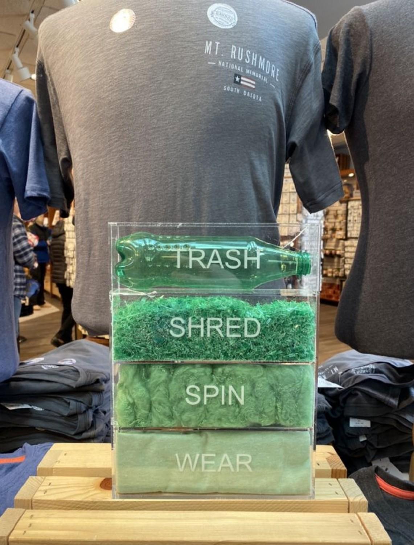 Póló palackokból - egy újabb lépés az újrahasznosítás felé