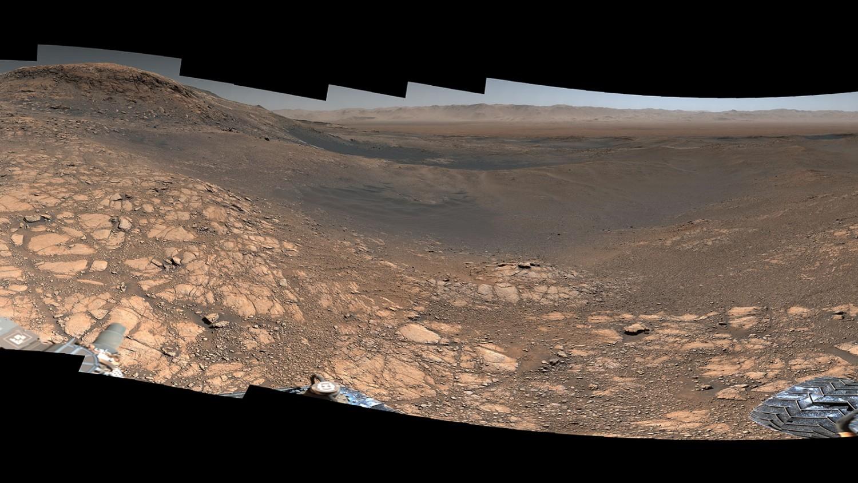 Nézd meg az eddigi legnagyobb felbontású panorámaképen a Marsról!