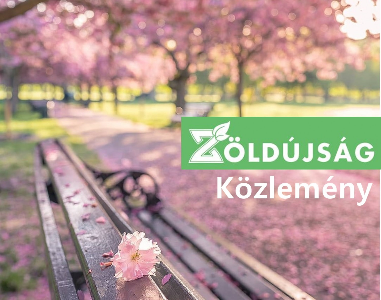 Zöld Újság közlemény