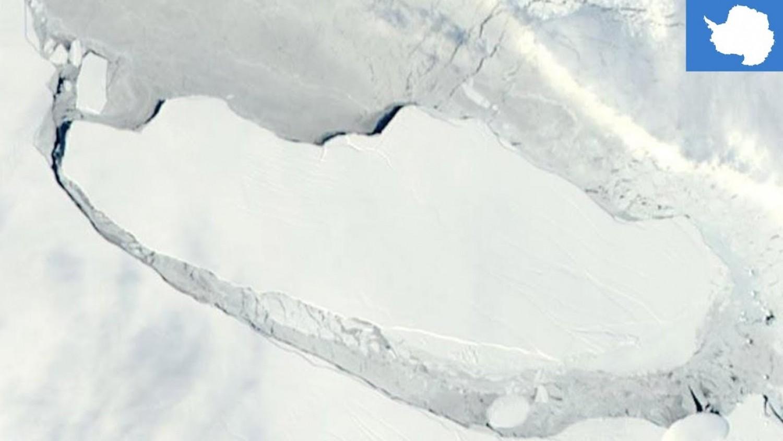 Töredezni kezdett a világ legnagyobb jéghegye