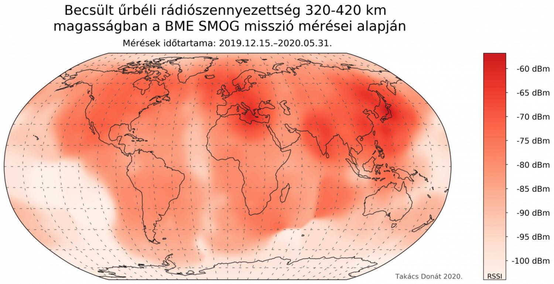 Elkészült a Föld első elektroszmog-térképe a világ legkisebb műholdja segítségével!