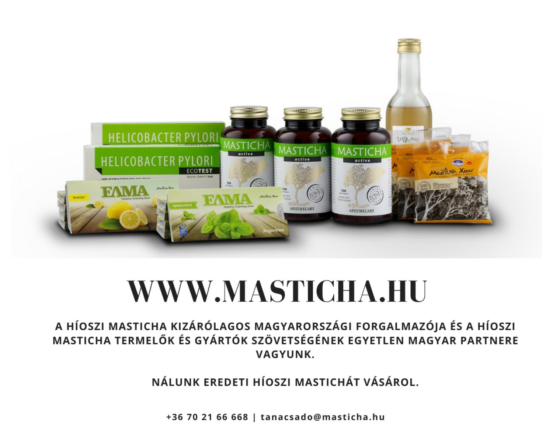 Masticha – a helicobacter elpusztítója
