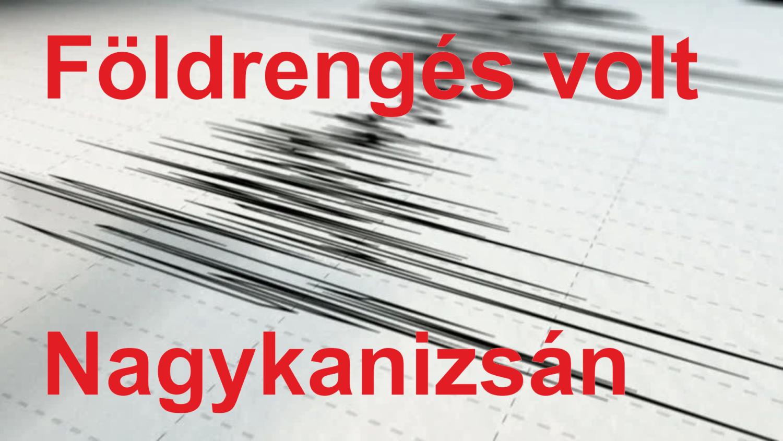 Földrengés volt Nagykanizsa közelében