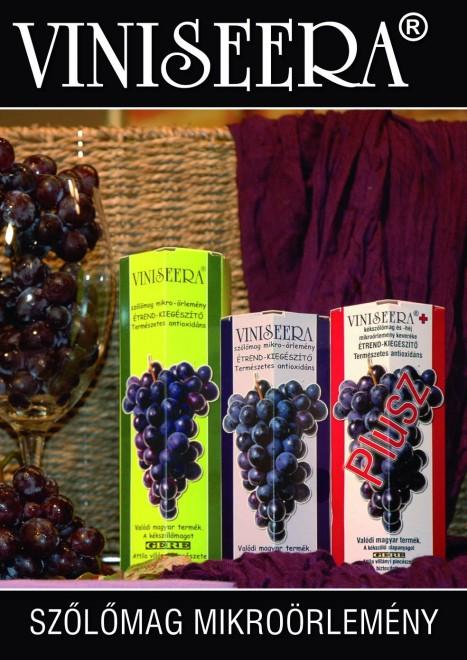 Viniseera Magyar szőlőmag mikroörlemény