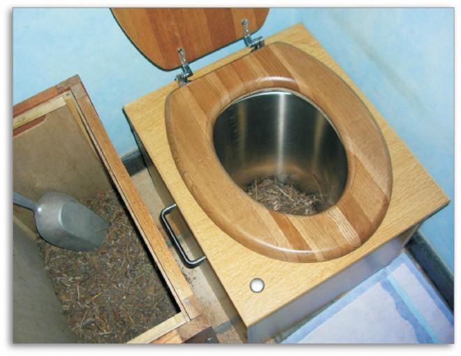 Vécé nélkül, avagy miért használjunk  száraz toalettet?