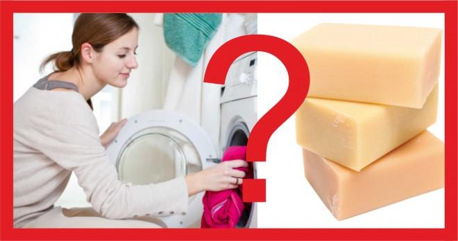 Szappannal mosni mosógépben? Egyszerű és nagyszerű!