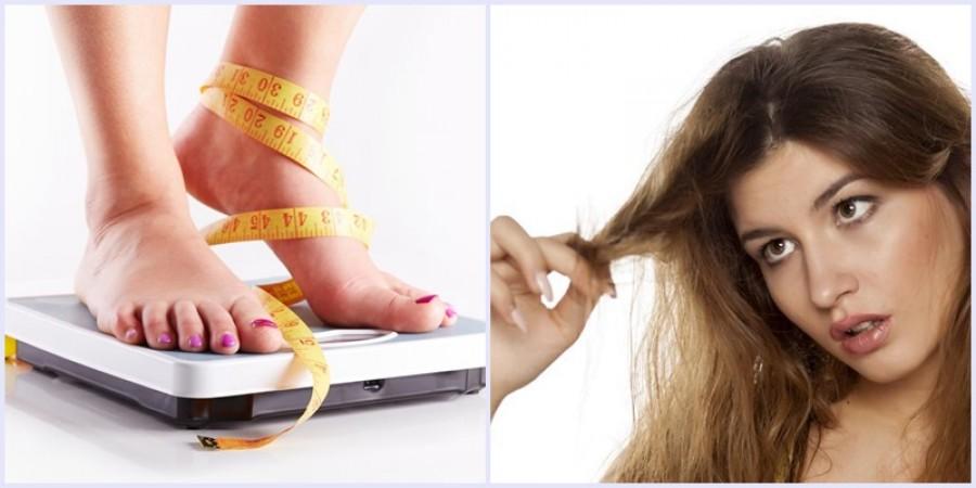 Vigyázat! A fogyókúrával  tönkreteheted a hajadat!