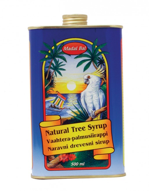 Neera pálma- és juharszirup  (5-féle pálmából)