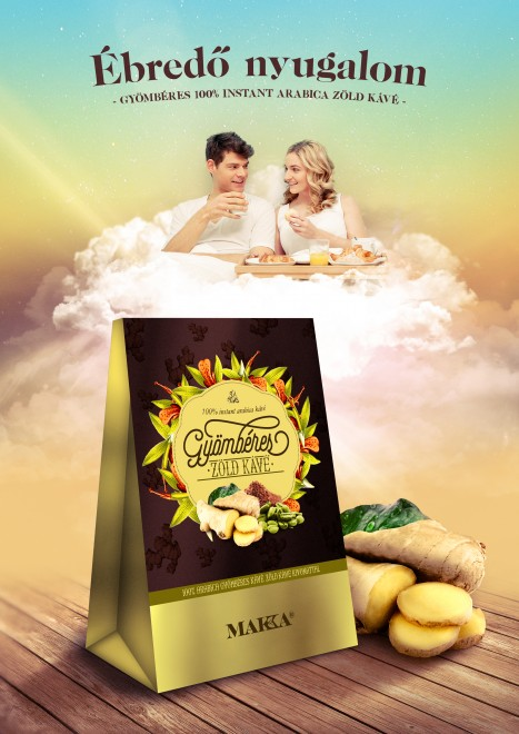 Gyömbér és zöld kávé  – a kirobbanó páros!
