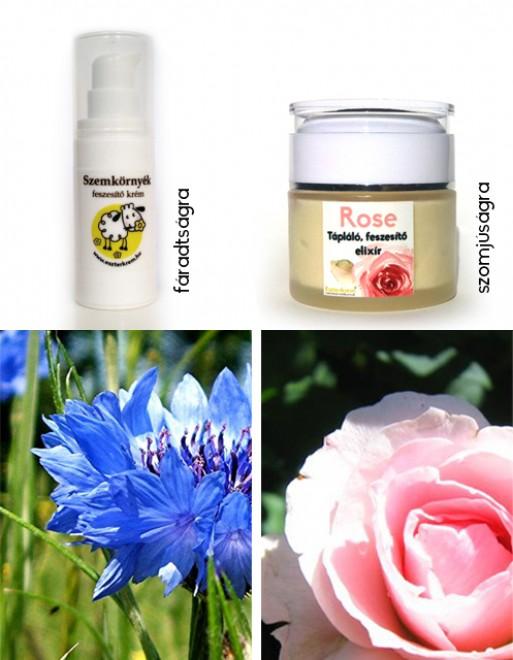 Virágos kozmetikumok