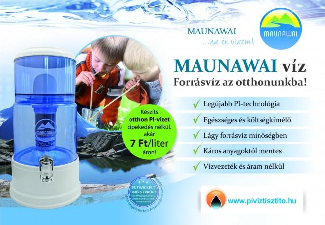 Mitől olyan különleges a MAUNAWAI PI-víztisztító rendszer? 3. rész