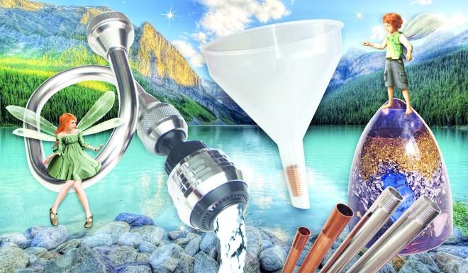 Elfelejthetjük a költséges  és a nem környezetbarát vízszűrőket