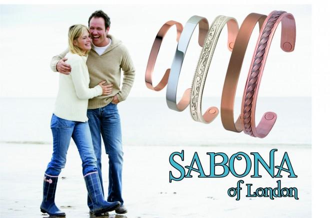 Valódi vörösréz karkötők a Sabonától