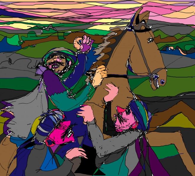 A veterán ló kalandja