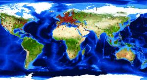 2012 szeptemberétől napjainkig 122 országból látogatták  meg a társaság honlapját