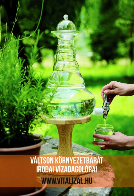 Irodai vízadagolás ÖKO-módra!
