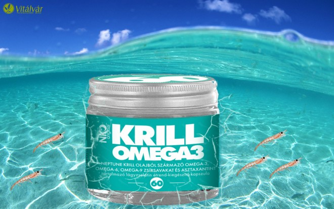10 érv a Neptun krill olaj mellett