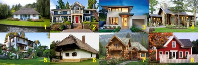 Válassz egy házad, és nézd meg, mit rejt a lelked!