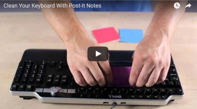 Így tisztítsd ki a számítógép, laptop billentyűzetét 30 másodperc alatt!