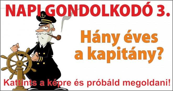 NAPI GONDOLKODÓ 3.