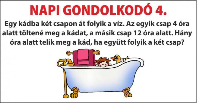 NAPI GONDOLKODÓ 4.