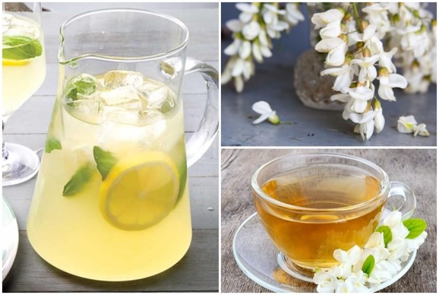 Isteni finom akácvirág ital, ami a gyomorpanaszokat is enyhíti!