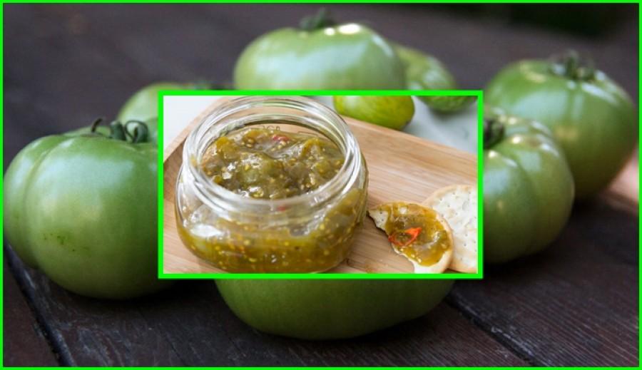 Izgalmas recept: Zöld paradicsom lekvár!