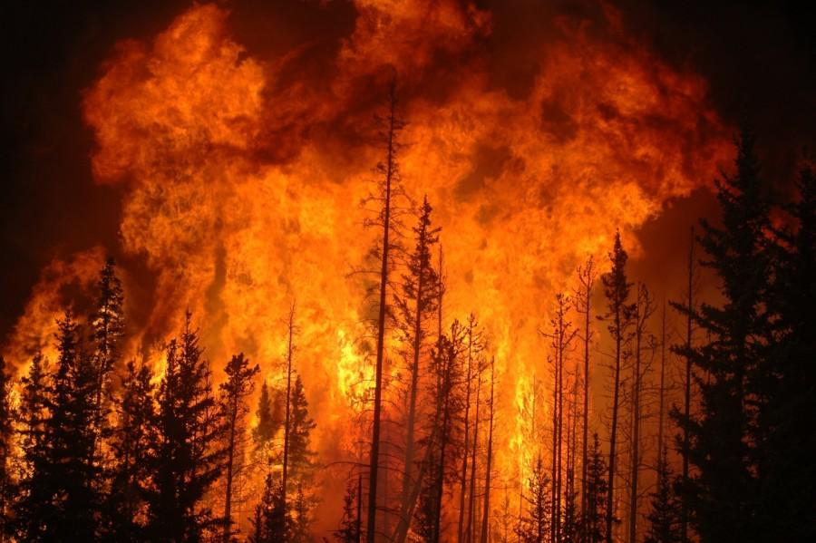 Tűz tombol Csernobilban!