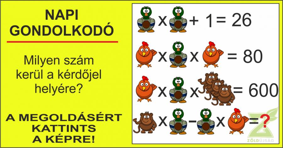 NAPI GONDOLKODÓ 21.