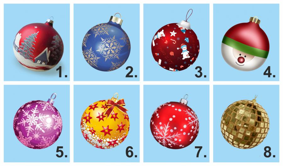Melyik díszt tennéd fel először a karácsonyfádra? Nézd meg, mit árul el rólad!