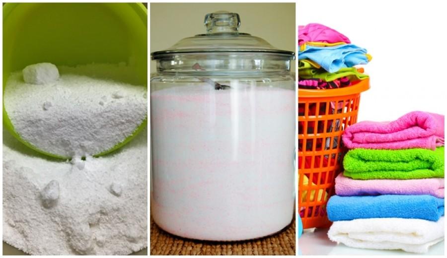 Vigyázol a környezetre? Ime egy tuti ÖKO mosópor recept!