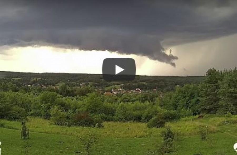 Nagyon ritka természeti jelenséget örökített meg a kamera az Őrségben