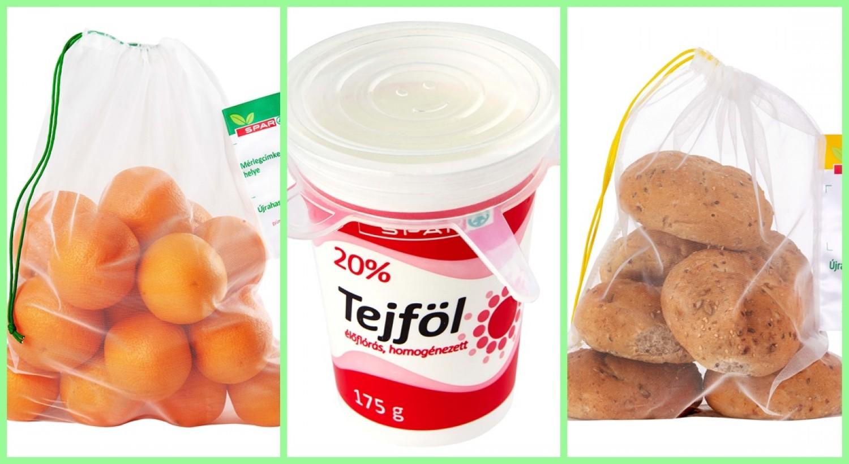 Tovább zöldül a SPAR! - Már a teljes üzlethálózatában megtalálhatóak a szilikonfedelek és a zöldség-gyümölcs és pékáru tasakok