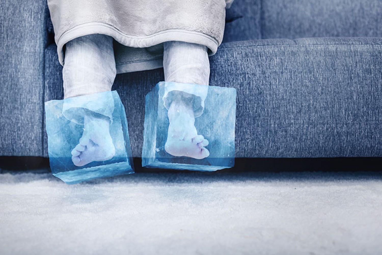 Ezért lehet hideg a lábad! Nem árt odafigyelni!