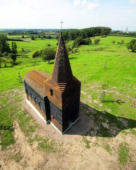 Első ránézésre hétköznapi templomnak tűnik,  DE NEM AZ!
