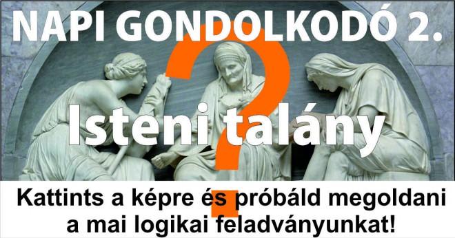 NAPI GONDOLKODÓ 2.